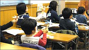 紙飛行機スカイカブⅢ工作教室&競技大会