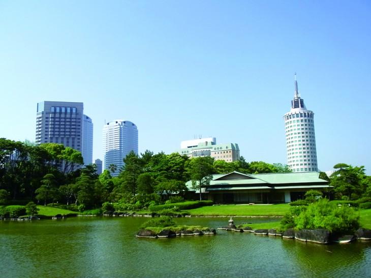 日本庭園 「見浜園」
