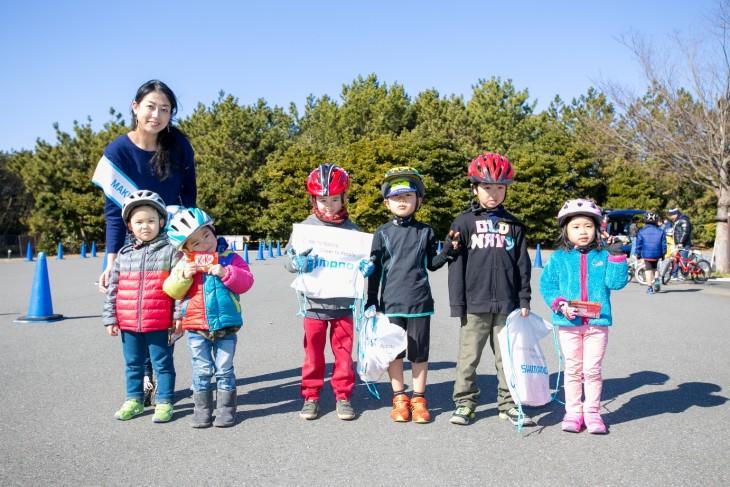 シクロクロス千葉2015自転車教室