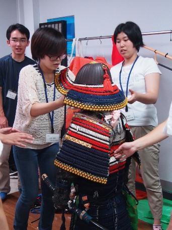 鎧やむかしの着物の着用体験@千葉市立郷土博物館<9/12(土)>