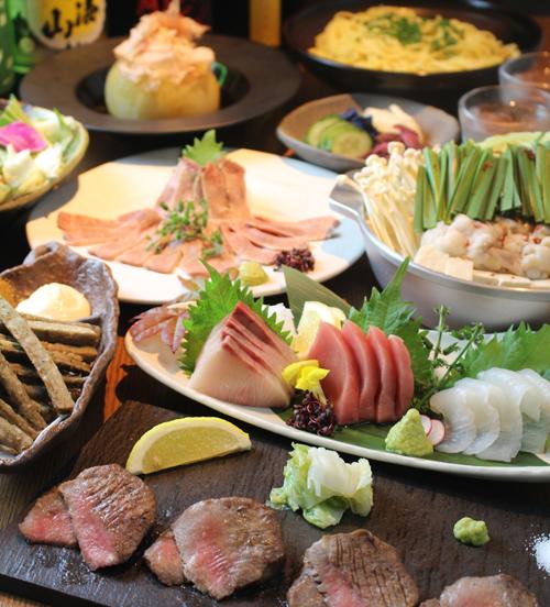 牛タンと鮮魚1