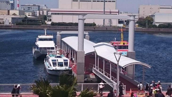 千葉中央港旅客船桟橋&旅客船ターミナル等複合施設「ケーズハーバー」オープン!@千葉みなと<7/8更新>