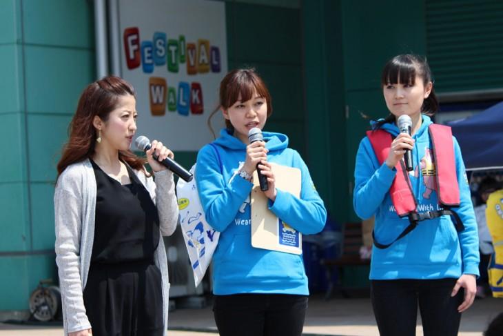 △左から*mika*さん、高橋薫さん、鈴木佑衣那さん