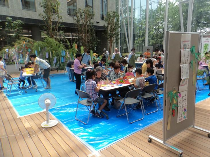 子どもチャレンジ教室「七夕かざりをつくろう」@千葉市生涯学習センター<7/3(日)>