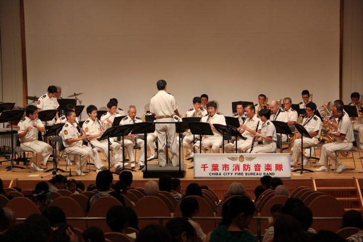 千葉市消防音楽隊の「けやきコンサート」@千葉市生涯学習センター<7/13(水)>