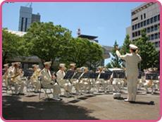 千葉県警察音楽隊「金曜コンサート」@羽衣公園<6/17(金)>