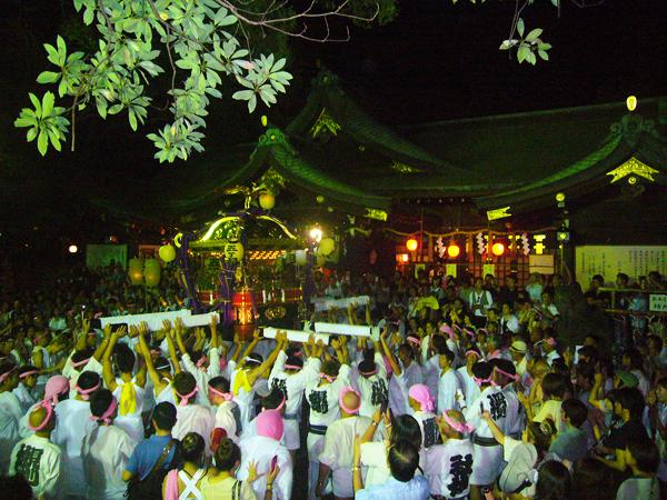 検見川神社 例祭神幸祭<8/1(月)~3(水)>