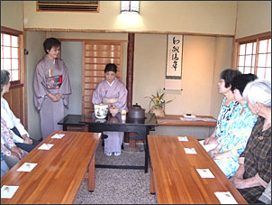 海星庵茶室公開とお茶の進呈@稲毛記念館<1/8(日)・22(日)>