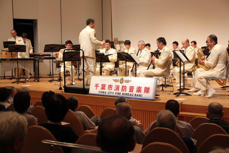 消防音楽隊の「けやきコンサート」@千葉市生涯学習センター<10/25(火)>