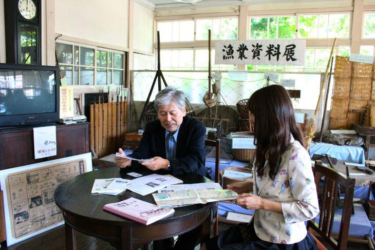△当時のお話をNPO法人ちば・生浜歴史調査会 理事の白井孝様に伺いました。