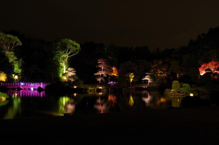 見浜園灯ろうまつり~庭園ライトアップ~@幕張海浜公園<11/19(土)~27(日)>