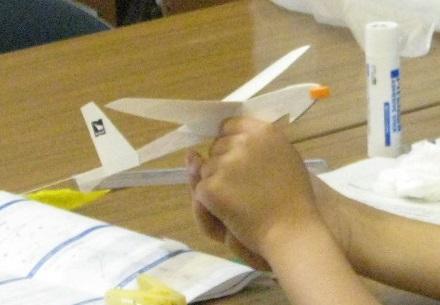 競技用紙飛行機工作教室@稲毛民間航空記念館<12/11(日)>