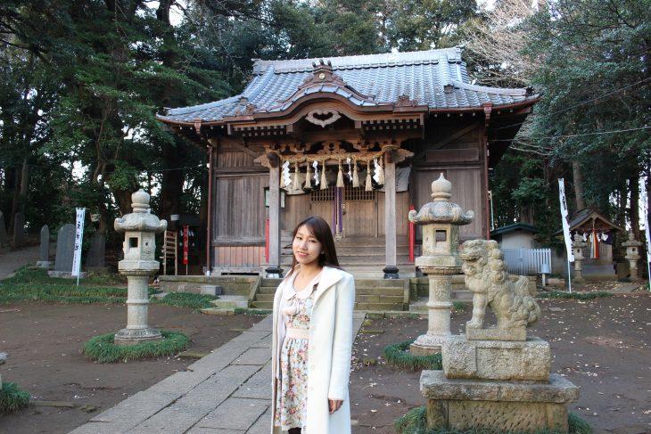 △「八剣神社」