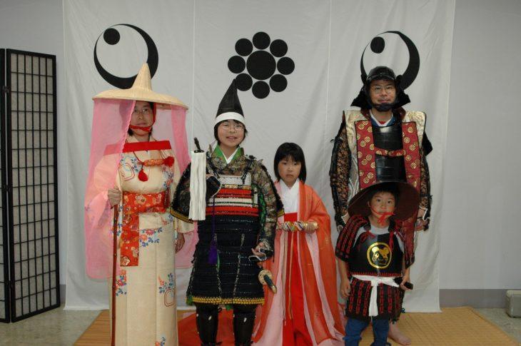 鎧やむかしの着物の着用体験@千葉市立郷土博物館<4/8(土)>