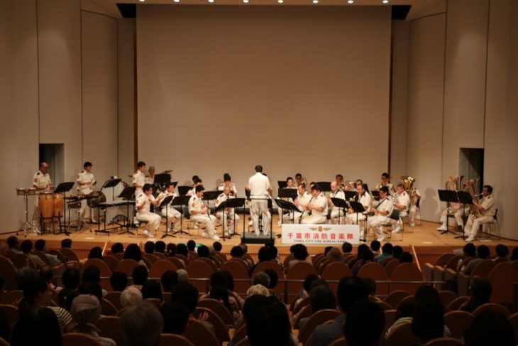 消防音楽隊「夏休みファミリーコンサート」@生涯学習センター<7/26(水)>
