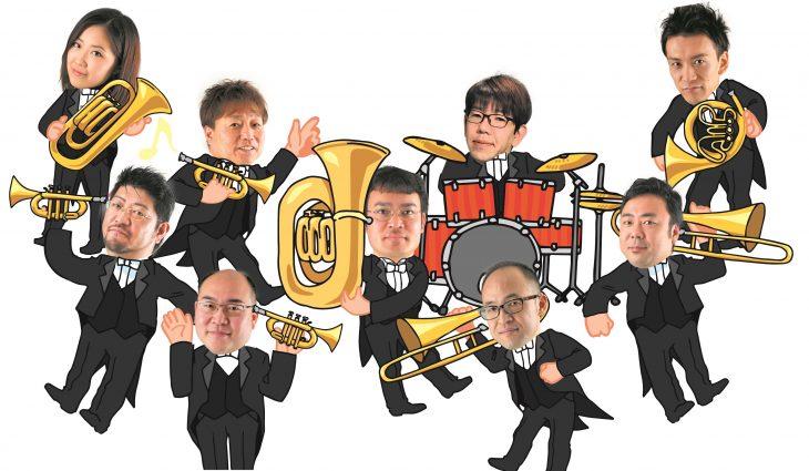 らっぱとたいこでコンサート@青葉の森公園芸術文化ホール<6/10(土)>