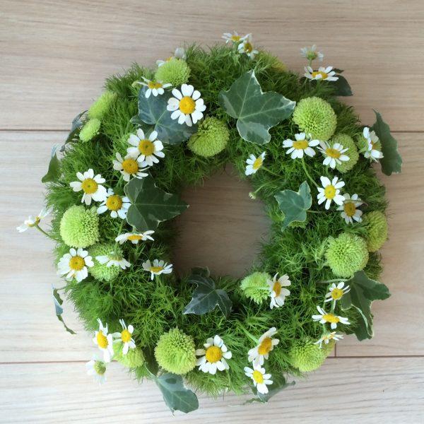 季節のお花でテーブルリース@千葉市民ギャラリー・いなげ<6/10(土)>