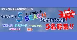 5ビーチ観光PR大使募集