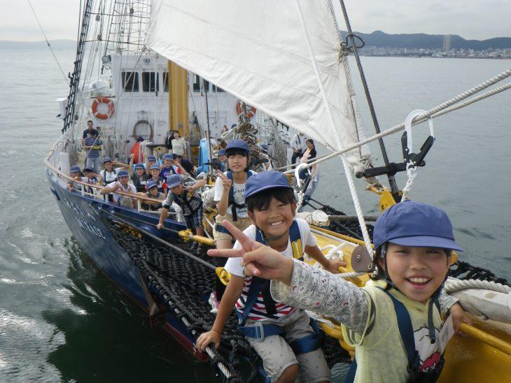 千葉初入港!「帆船みらいへ」体験航海@千葉みなと旅客船桟橋<8/29~9/3>