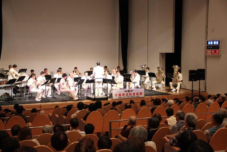 消防音楽隊「アトリウムコンサート」@生涯学習センター<10/4(水)>