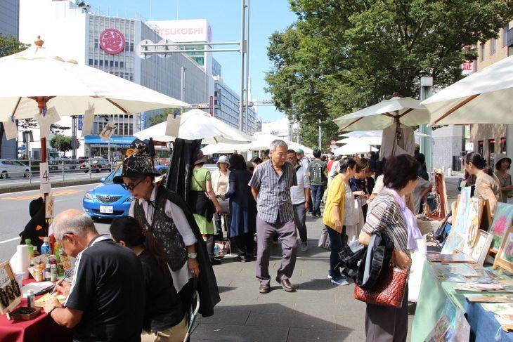 パラソルギャラリー 2017@千葉駅前大通り<10/7(土)、8(日)>