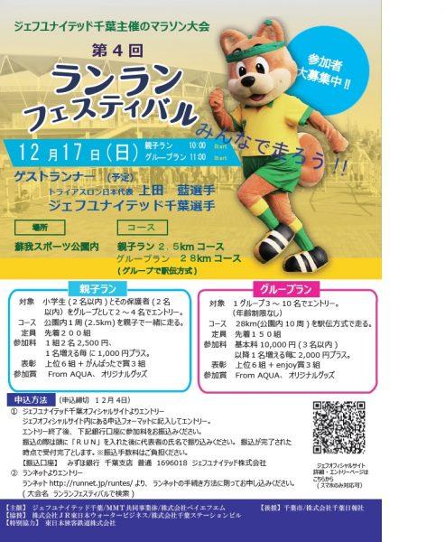 第4回ランランフェスティバル in 蘇我@蘇我スポーツ公園<12/17(日)>