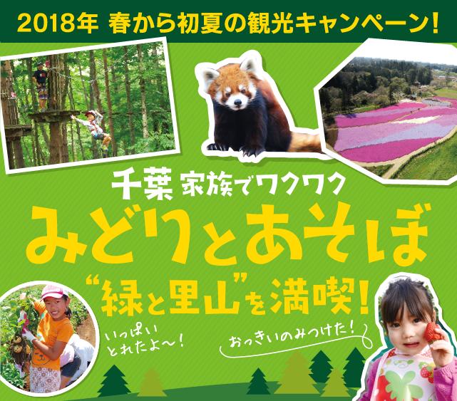 千葉家族でワクワク みどりとあそぼ 緑と里山を満喫!