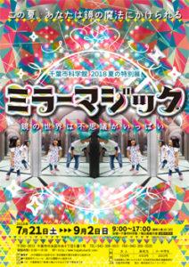 夏の特別展「ミラーマジック~鏡の世界は不思議がいっぱい~」@千葉市科学館<7/21(土)~9/2(日)>