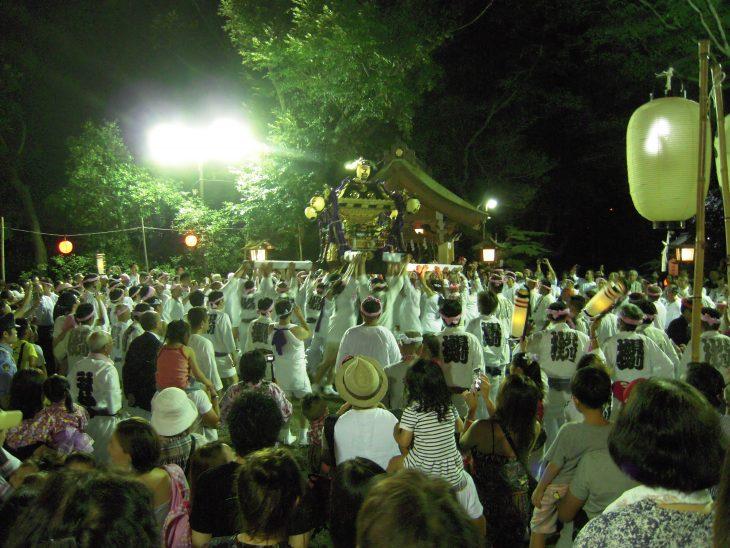 検見川神社 例祭神幸祭・ほおづき市@検見川神社<8/1(木)~3(土)>