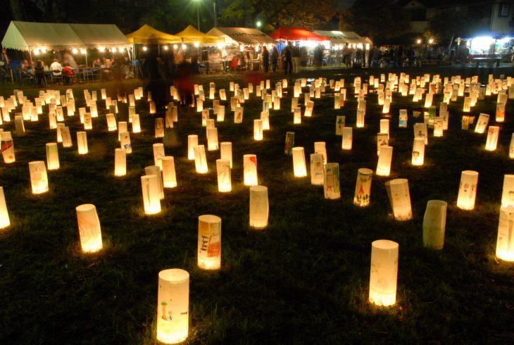 【H30情報】第13回稲毛あかり祭-夜灯@稲毛せんげん通り他<11/24(土)・25(日)>