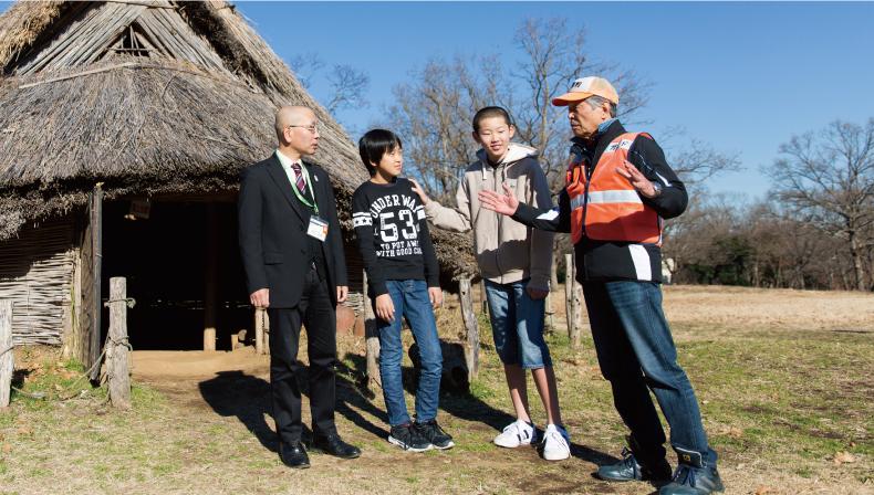 加曽利貝塚の守り人たち