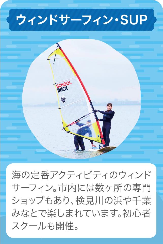 ウィンドサーフィン・SUP