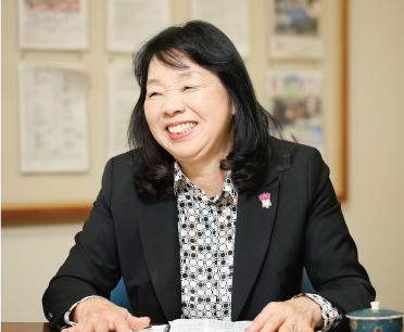花びと会ちば 会長 仙波 慶子さん