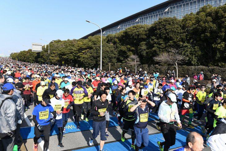第43回サンスポ千葉マリンマラソン@幕張海浜公園・幕張メッセ周辺<12/2(日)>