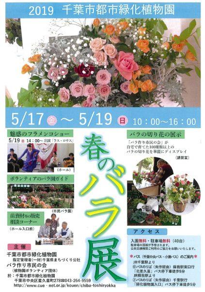 春のバラ展@千葉市都市緑化植物園<5/17(金)~19(日)>