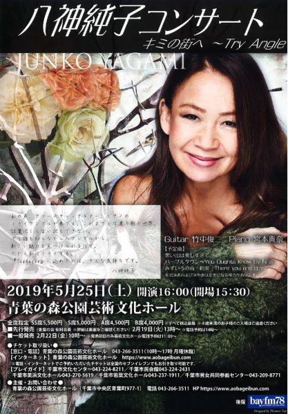 八神純子コンサート キミの街へ~ TryAngle @青葉の森公園芸術文化ホール<5/25(土)>