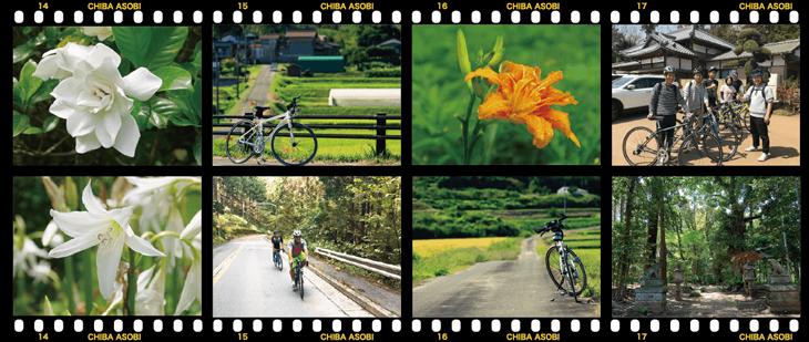 クロスバイクと里山の組み合わせは絵になる!