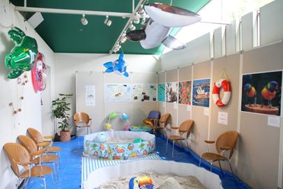 ホワイトサンドビーチ白い砂で遊ぼう!@三陽メディアフラワーミュージアム<7/2(火)~7/28(日)>