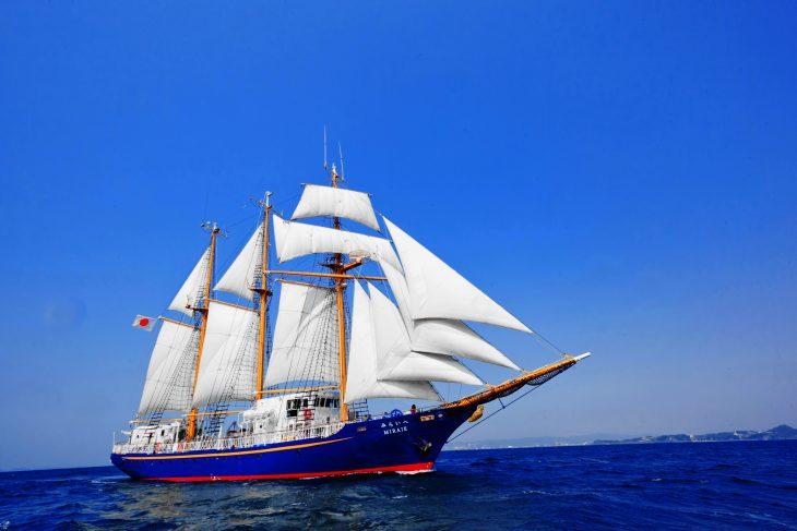「帆船みらいへ」一般公開&体験航海@千葉みなと旅客船さん橋<9/15(日)>