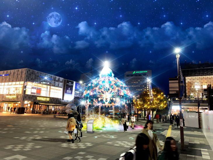 幕張新都心イルミネーション2019/2020開催!!@JR海浜幕張駅前広場<11/1(金)~1/26(日)>
