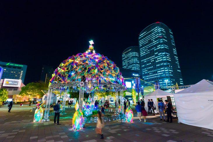 幕張新都心イルミネーション2019/2020開催!!@JR海浜幕張駅前広場<11/1(金)~1/26(日)>※終了いたしました