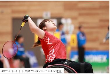 第5回日本障がい者バドミントン選手権大会@千葉ポートアリーナ<12/14(土)~15(日)>