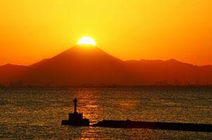 海越しの「ダイヤモンド富士」をみよう!@千葉Cityベイエリア<2/19(土曜)~28(月曜)>