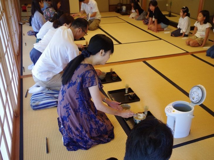 親子茶道体験教室@見浜園<8/23(日曜)>