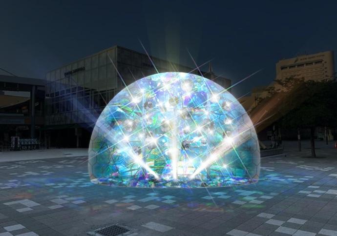 幕張新都心の2020年イルミネーション始まりました!