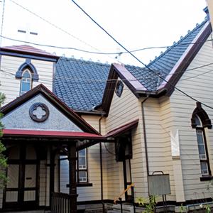 6、千葉教会 教会堂
