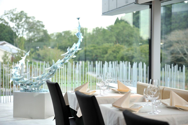 ホキ美術館内のレストランの写真