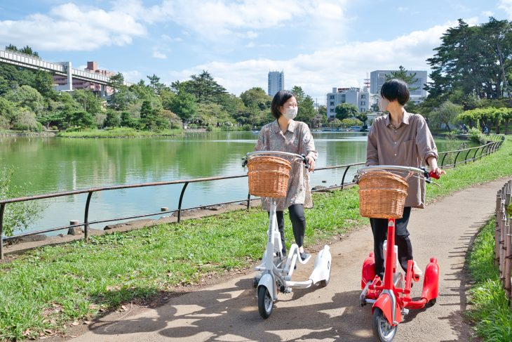 千葉県初! 【歩く×自転車】新感覚の乗り物レンタル開始@THE CABINETS CAFE