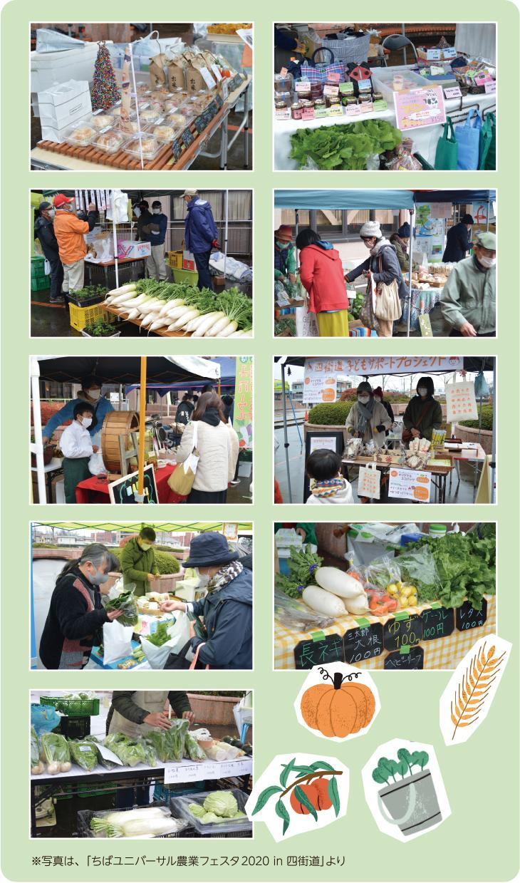 ちばユニバーサル農業フェスタ2020in四街道の写真